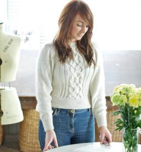 Irish Knit Sweater Pattern Picture