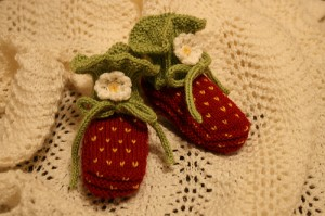 Pictures of Knit Baby Booties Pattern