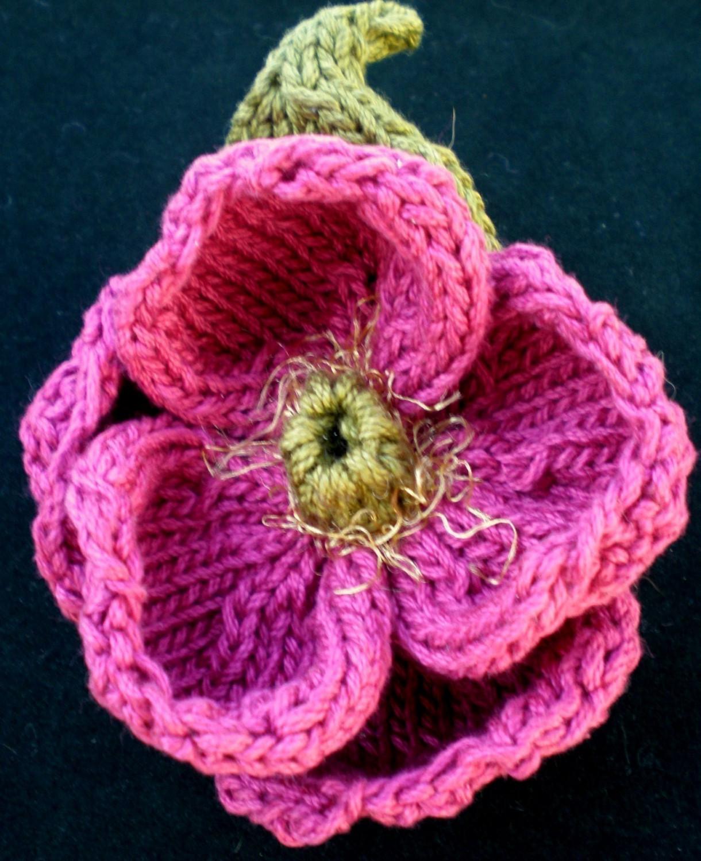 Knit Flower Pattern | A Knitting Blog