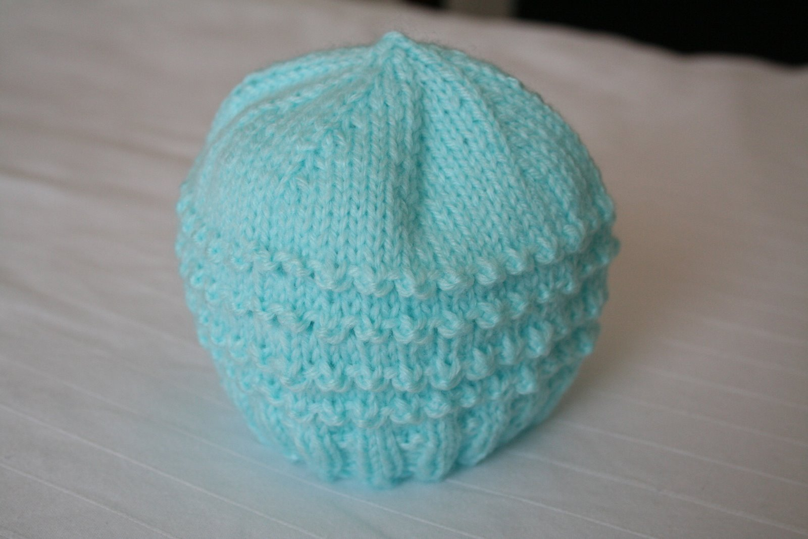 Preemie Knit Hat Pattern | A Knitting Blog