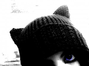Knitted Cat Hat Pattern Tutorial Photos