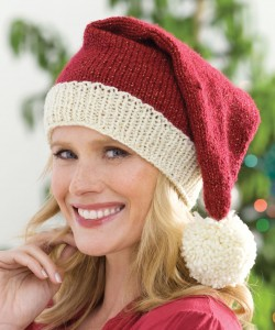 Knitted Santa Hat Pattern Pictures
