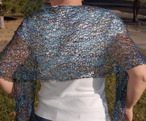 Knitted Shawl Patterns Photo