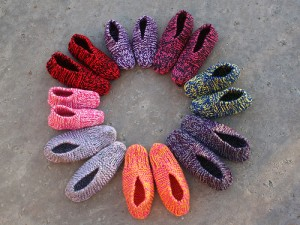 Images of Knitted Slipper Pattern