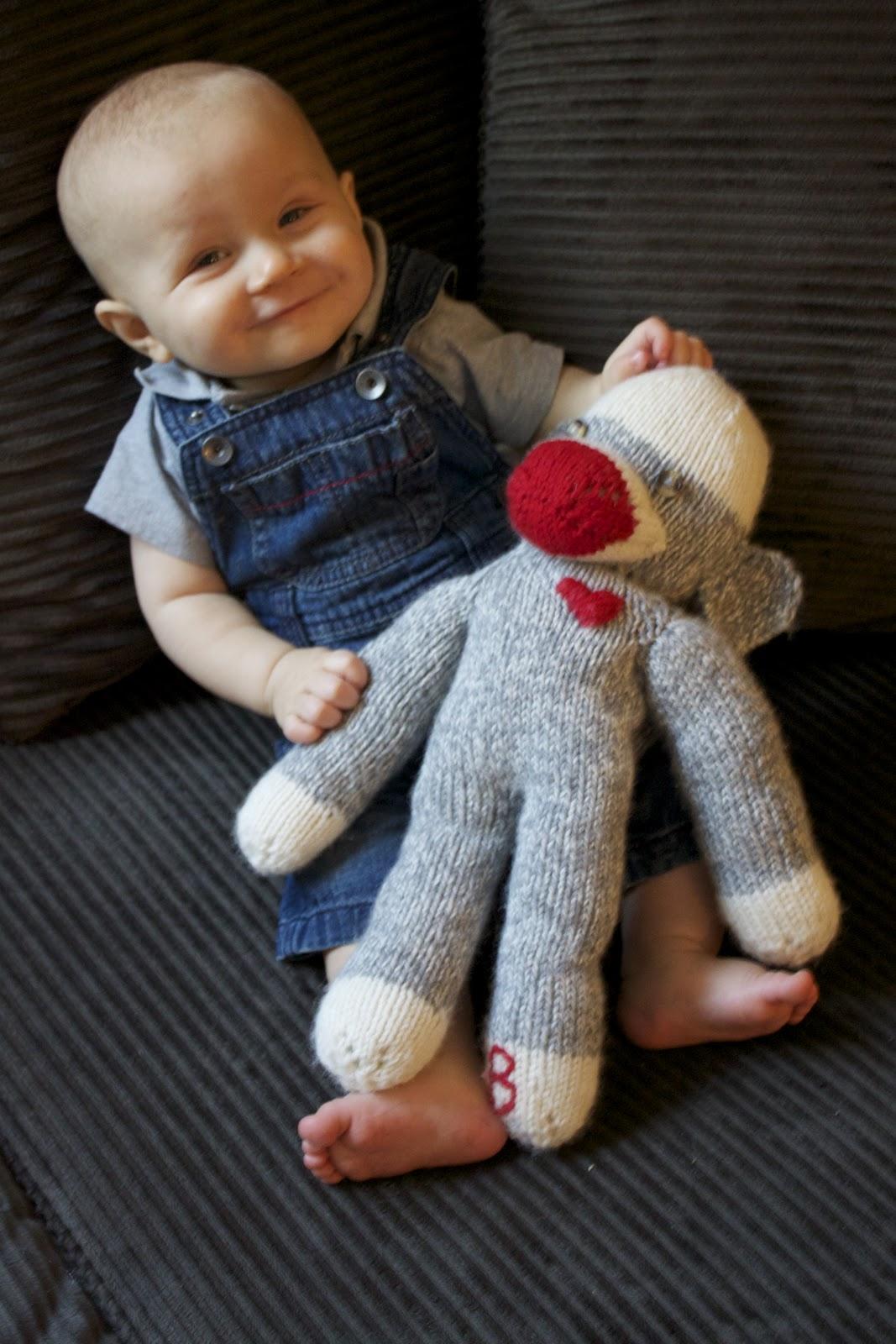Sock Monkey Knitting Pattern | A Knitting Blog