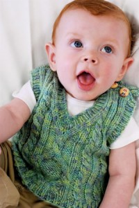 Picture of Knitted Vest Pattern For Baby