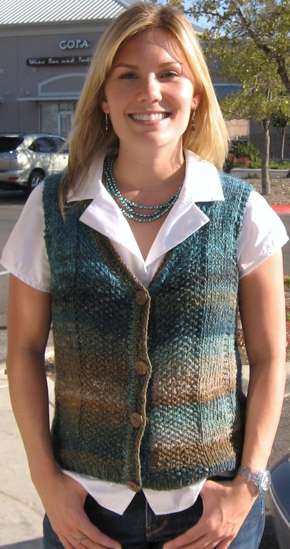 Basket Weave Vest Pattern : Knitted vest patterns a knitting