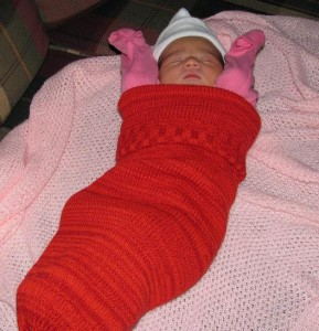 Photos of Knitting Baby Cocoon Pattern