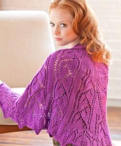 Image of Knitting Shawl Pattern