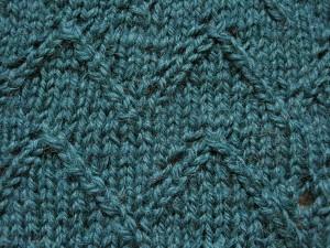 Lace Chevron Knitting Pattern Photos