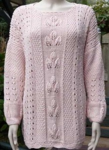 Lace Knit Sweater Pattern For Women Pictures