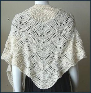 Lacy Knit Shawl Pattern Pictures