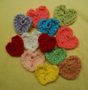 Picture of Little Round Loom Heart Pattern Instruction