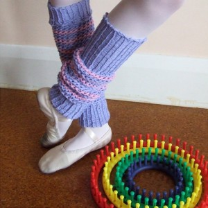 Loom Knit Leg Warmers Photo