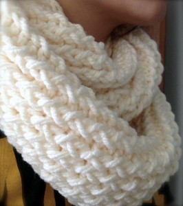Photos of Loom Knitting Scarf Pattern Instruction