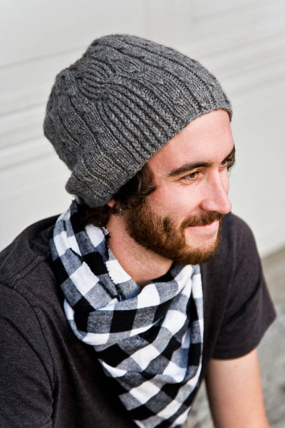Mens Knit Hat Pattern A Knitting Blog