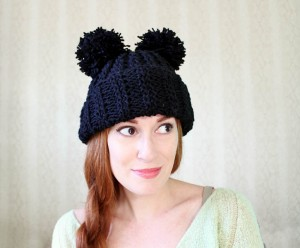 Mickey Mouse Hat Knitting Pattern Pictures