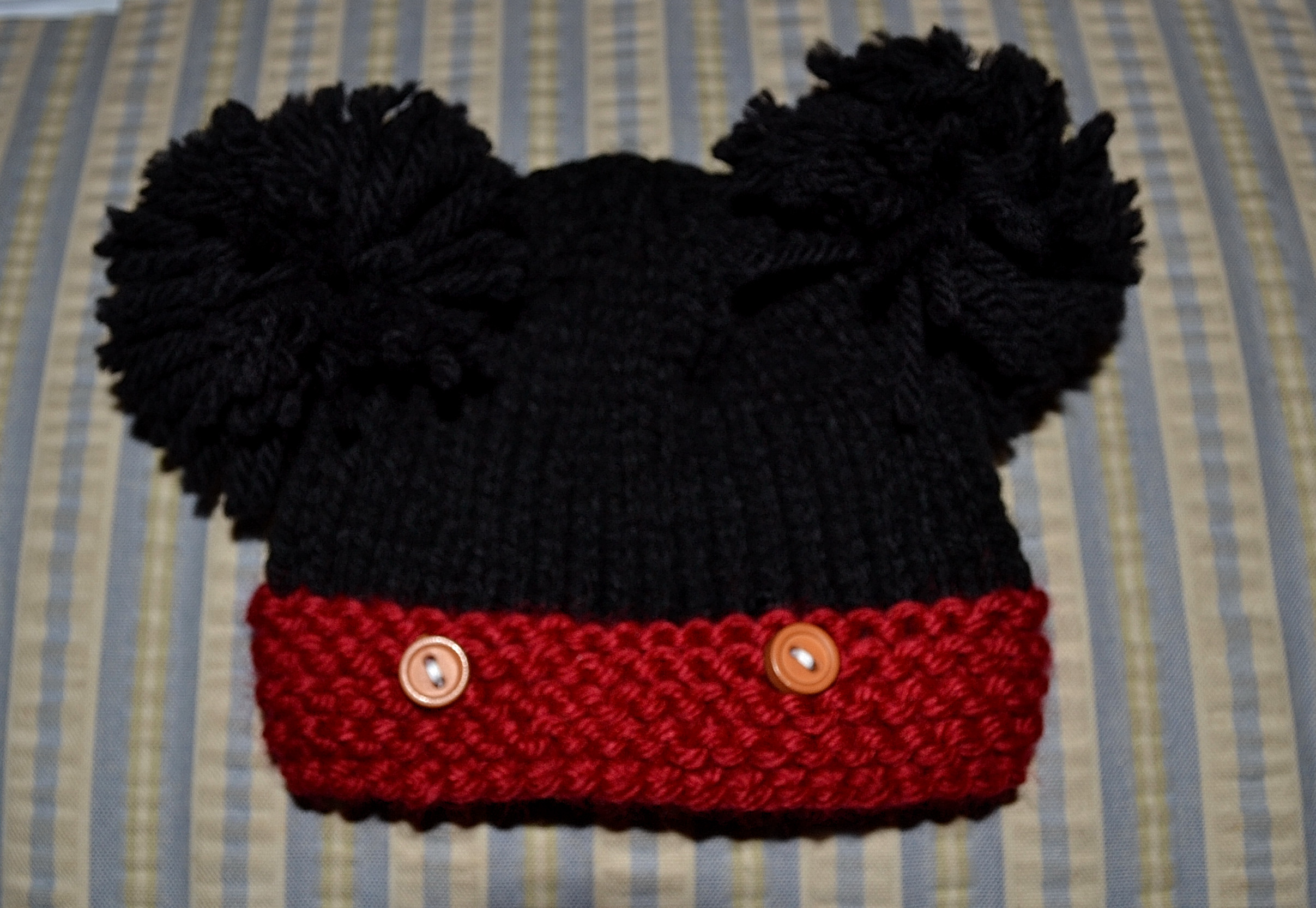 Mickey Mouse Knit Hat Patterns A Knitting Blog