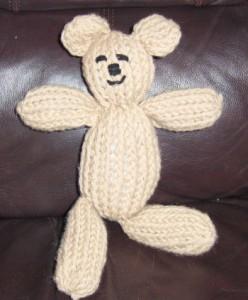 Images of Mitten Loom Teddy Bear