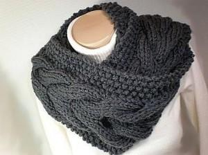 Images of Moebius Circle Cowl Scarf Knitting Pattern