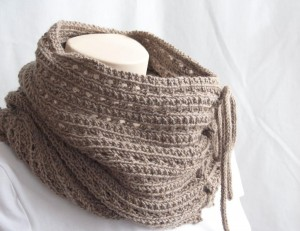 Mokaccino Knitting Cowl Pattern Photo