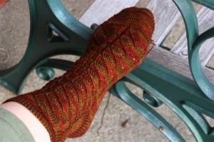 Nutkin Sock Knitting Pattern Photos