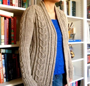 Images of Oversized Cable Knit Sweater Pattern