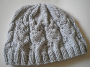 Owl Hat Knitting Pattern Instruction Pictures