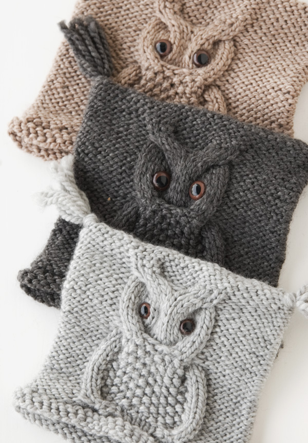 Knit Owl Hat Pattern | A Knitting Blog