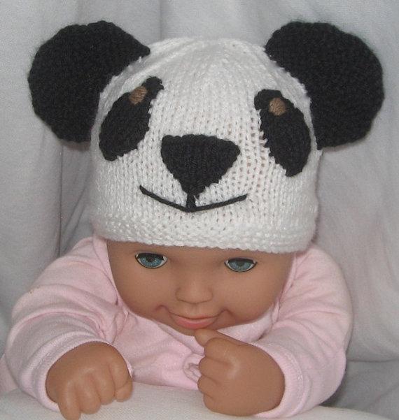 Knitted Panda Hat Patterns A Knitting Blog
