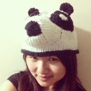 Panda Hat Knitting Pattern Images