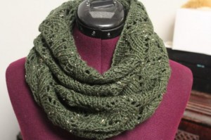 Lacey Arches Infinity Scarf Pattern Photo
