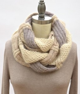 Challah Infinity Scarf Pattern Photos
