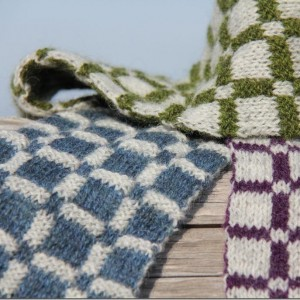 Plaid Double Knit Scarf Pattern Pictures
