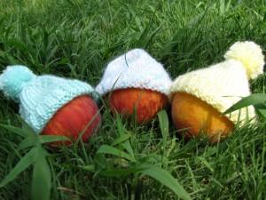 Preemie Hat Knitting Pattern Tutorial Images
