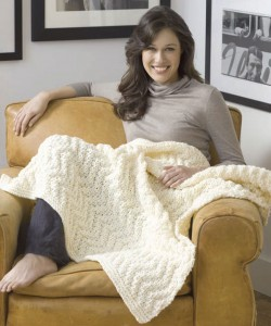 Picture Quick Knitting Afghan Pattern