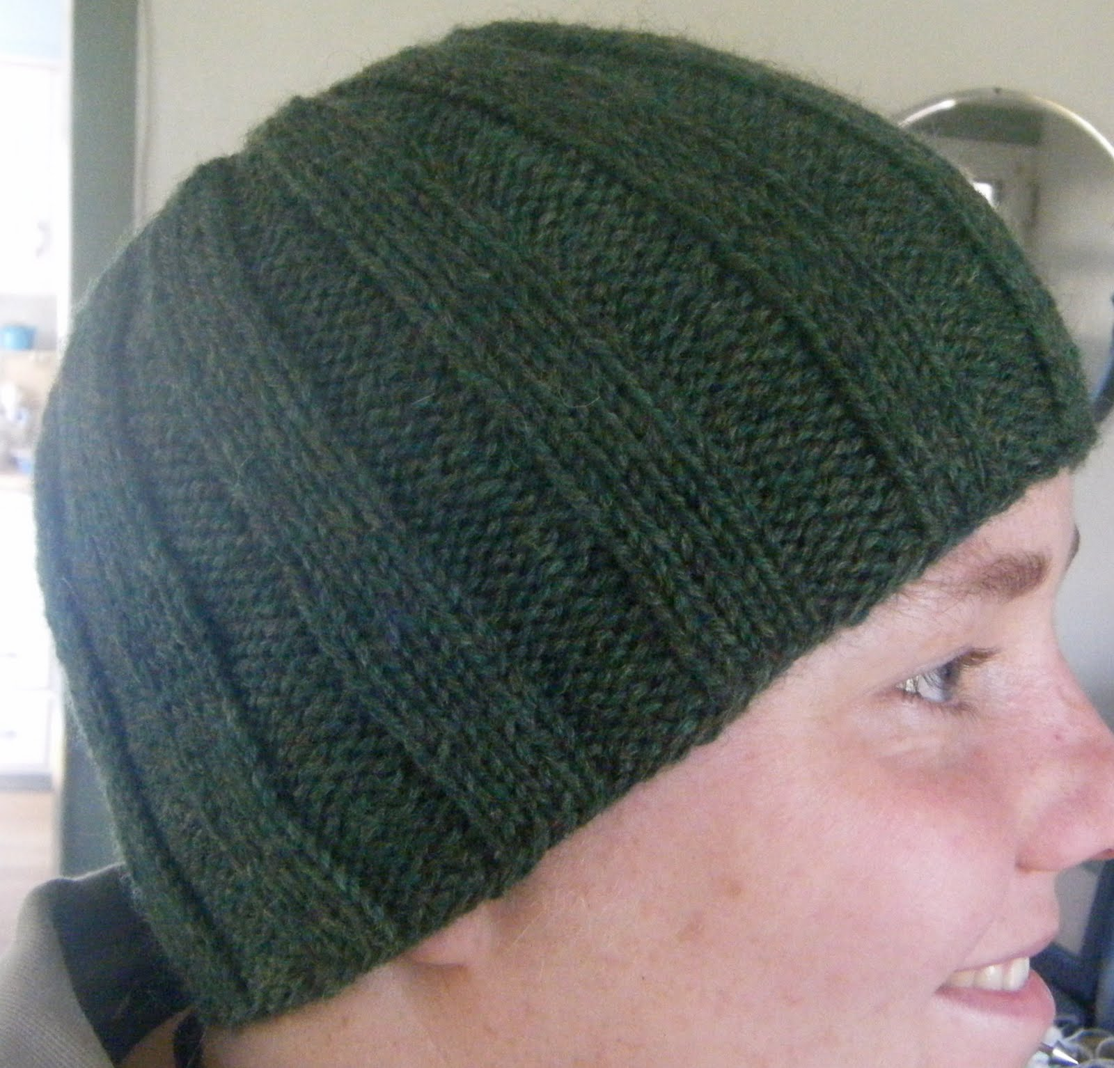 Ribbed Knit Hat Pattern | A Knitting Blog