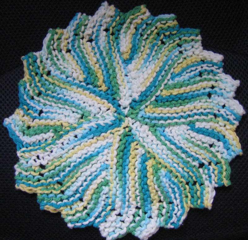 Waffle Knit Dishcloth Pattern Gallery - knitting patterns free download