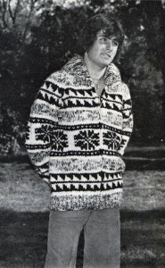 Snowflake Sweater Knitting Pattern For Men's Pictures