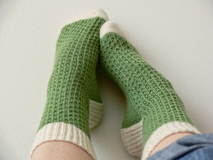 Picture of Sock Knitting Pattern