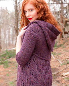 Sweater Knitting Hooded Pattern Image