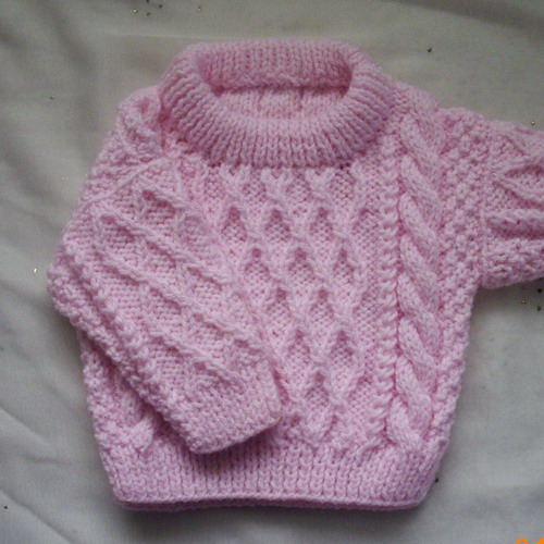 Baby Sweater Knitting Pattern - A Knitting Blog