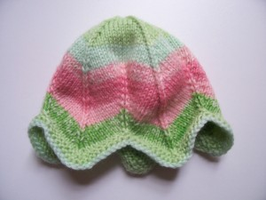 Tulip Preemie Knitting Hat Pattern Pictures