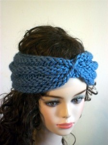 Turban Headband Knitting Pattern Images
