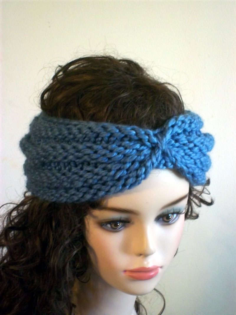 Knitted Turban Headband Patterns | A Knitting Blog