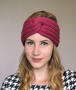 Turban Knit Headband Pattern Pictures