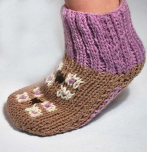 Turkish Delight Slipper Socks Pattern Photos
