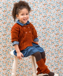 Pictures of Cable Knit Leg Warmers Pattern
