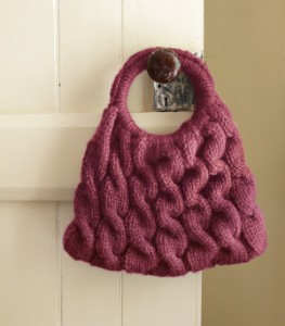 Pictures of Cable Knitting Purse Pattern