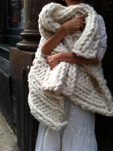 Pictures of Chunky Knit Blanket Pattern